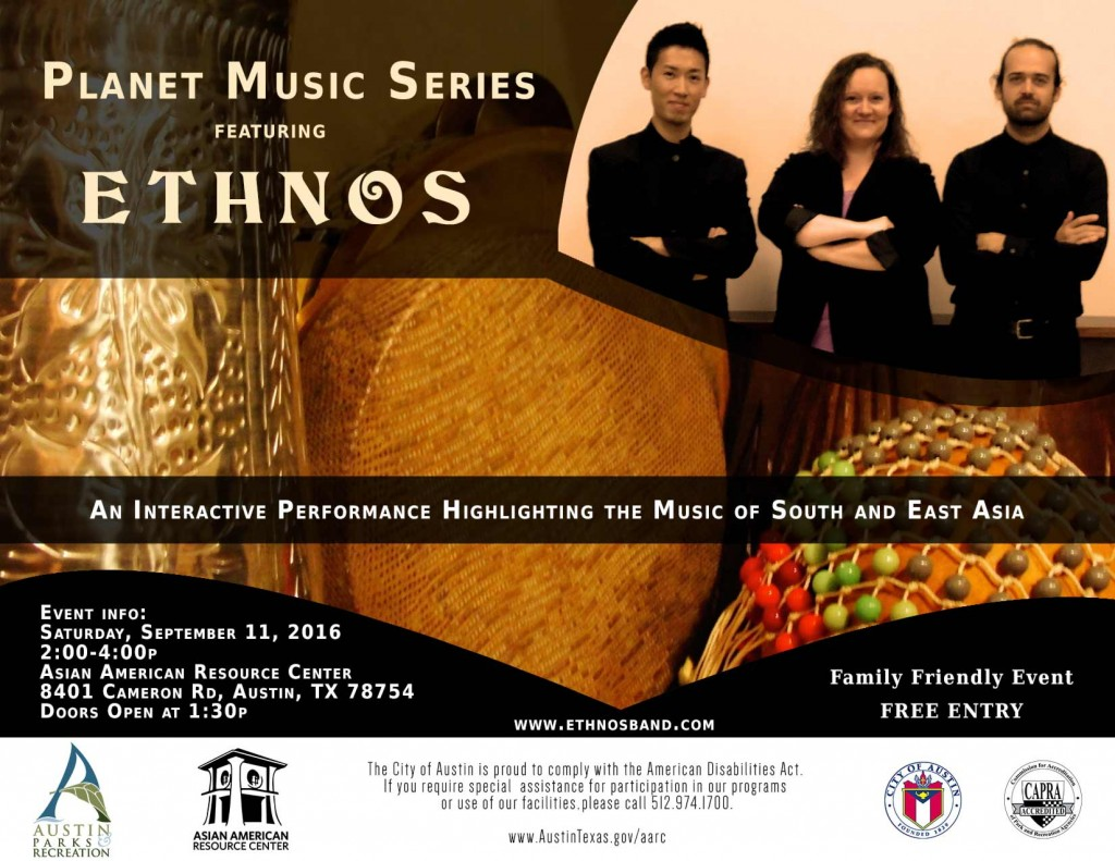 Ethnos Performing Live at Asian American Resource Center September-11-2016